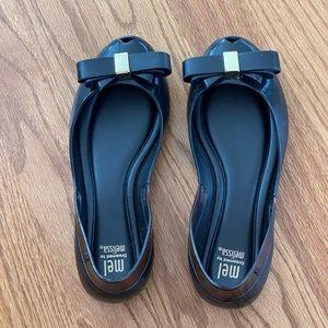 Melissa,  peep-toe flat shoes - kids
